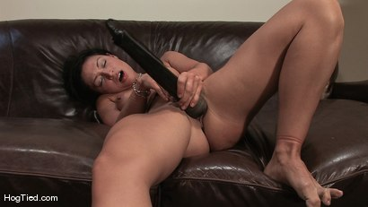 Photo number 14 from Amateur Casting Couch 22: Charolette is insatiable!  shot for Hogtied on Kink.com. Featuring Charolette Bloom in hardcore BDSM & Fetish porn.