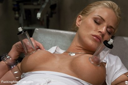 Photo number 2 from FUCKINGMACHINES ARCHIVE FAVOURITE: Sci-fi sexual orgasm overload - Brooke Belle  shot for Fucking Machines on Kink.com. Featuring Brooke Belle in hardcore BDSM & Fetish porn.