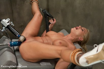 Photo number 10 from FUCKINGMACHINES ARCHIVE FAVOURITE: Sci-fi sexual orgasm overload - Brooke Belle  shot for Fucking Machines on Kink.com. Featuring Brooke Belle in hardcore BDSM & Fetish porn.