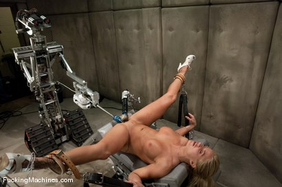 Photo number 9 from FUCKINGMACHINES ARCHIVE FAVOURITE: Sci-fi sexual orgasm overload - Brooke Belle  shot for Fucking Machines on Kink.com. Featuring Brooke Belle in hardcore BDSM & Fetish porn.