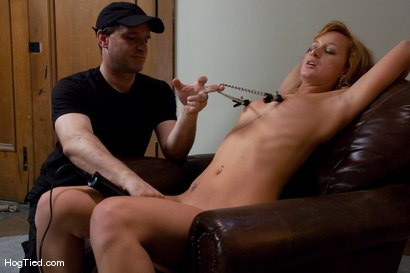 Photo number 12 from Amateur Casting Couch 18: Ariel... Smooth, Steady & Intense shot for Hogtied on Kink.com. Featuring Ariel in hardcore BDSM & Fetish porn.