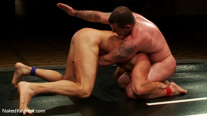 Photo number 7 from Dak Ramsey vs Mitch Colby shot for Naked Kombat on Kink.com. Featuring Mitch Colby and Dak Ramsey in hardcore BDSM & Fetish porn.