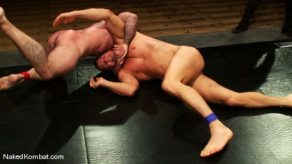 Photo number 11 from Dak Ramsey vs Mitch Colby shot for Naked Kombat on Kink.com. Featuring Mitch Colby and Dak Ramsey in hardcore BDSM & Fetish porn.