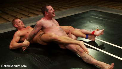 Photo number 9 from Dak Ramsey vs Mitch Colby shot for Naked Kombat on Kink.com. Featuring Mitch Colby and Dak Ramsey in hardcore BDSM & Fetish porn.