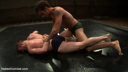 Photo number 1 from Dean Tucker vs DJ<br />The Oil Match shot for Naked Kombat on Kink.com. Featuring Dean Tucker and DJ in hardcore BDSM & Fetish porn.