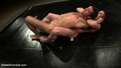 Photo number 10 from Dean Tucker vs DJ<br />The Oil Match shot for Naked Kombat on Kink.com. Featuring Dean Tucker and DJ in hardcore BDSM & Fetish porn.