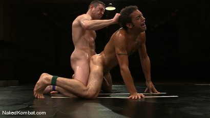 Photo number 14 from Dean Tucker vs DJ<br />The Oil Match shot for Naked Kombat on Kink.com. Featuring Dean Tucker and DJ in hardcore BDSM & Fetish porn.