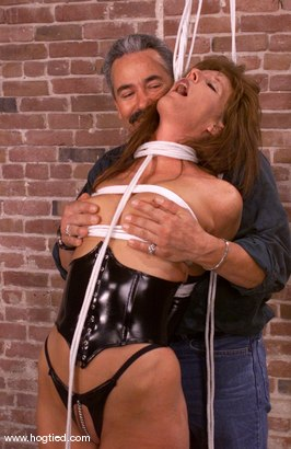 Photo number 3 from Maria Shadoes and Lew Rubens shot for Hogtied on Kink.com. Featuring Maria Shadoes and Lew Rubens in hardcore BDSM & Fetish porn.