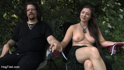 Photo number 14 from Sweltering Hot Bondage... Sister Dee at Leather Retreat shot for Hogtied on Kink.com. Featuring Sister Dee and Master Abraham in hardcore BDSM & Fetish porn.
