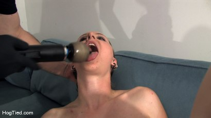 Photo number 12 from Amateur Casting Couch 15:  Hot Weather, Hot Slut, Hot Orgasms shot for Hogtied on Kink.com. Featuring Lady Kat in hardcore BDSM & Fetish porn.
