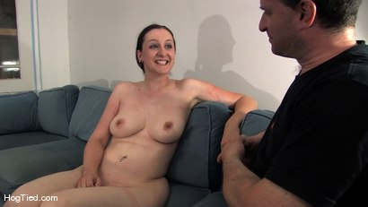 Photo number 15 from Amateur Casting Couch 15:  Hot Weather, Hot Slut, Hot Orgasms shot for Hogtied on Kink.com. Featuring Lady Kat in hardcore BDSM & Fetish porn.