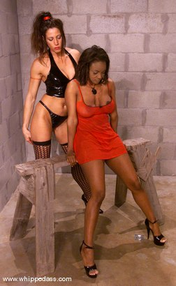 Photo number 1 from Sinnamon Love and Kym Wilde shot for Whipped Ass on Kink.com. Featuring Sinnamon Love and Kym Wilde in hardcore BDSM & Fetish porn.