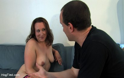 Photo number 15 from Amateur Casting Couch 17: Mina the horny camper shot for Hogtied on Kink.com. Featuring Mina Meow in hardcore BDSM & Fetish porn.