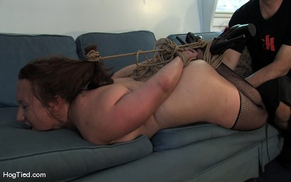 Photo number 7 from Amateur Casting Couch 17: Mina the horny camper shot for Hogtied on Kink.com. Featuring Mina Meow in hardcore BDSM & Fetish porn.