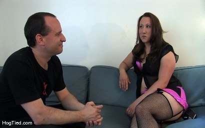 Photo number 1 from Amateur Casting Couch 17: Mina the horny camper shot for Hogtied on Kink.com. Featuring Mina Meow in hardcore BDSM & Fetish porn.