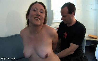 Photo number 13 from Amateur Casting Couch 17: Mina the horny camper shot for Hogtied on Kink.com. Featuring Mina Meow in hardcore BDSM & Fetish porn.
