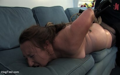 Photo number 10 from Amateur Casting Couch 17: Mina the horny camper shot for Hogtied on Kink.com. Featuring Mina Meow in hardcore BDSM & Fetish porn.