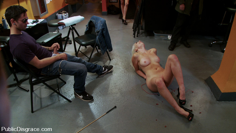 Public Disgrace - BDSM Bondage Humiliation Naked Girl Fucked In Public free  pictures and free movies