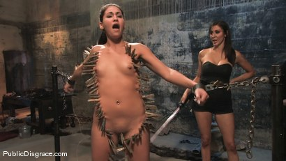 Photo number 7 from Jade Indica: Armory Whore shot for Public Disgrace on Kink.com. Featuring Miss Jade Indica and Mark Davis in hardcore BDSM & Fetish porn.