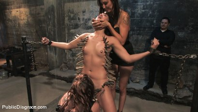 Photo number 9 from Jade Indica: Armory Whore shot for Public Disgrace on Kink.com. Featuring Miss Jade Indica and Mark Davis in hardcore BDSM & Fetish porn.
