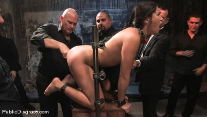 Photo number 3 from Jade Indica: Armory Whore shot for Public Disgrace on Kink.com. Featuring Miss Jade Indica and Mark Davis in hardcore BDSM & Fetish porn.