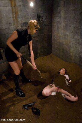 Photo number 3 from Classic Archive Shoot! Complete Submission of Kristine. shot for Whipped Ass on Kink.com. Featuring Maitresse Madeline Marlowe  and Kristine in hardcore BDSM & Fetish porn.