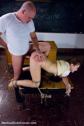 Photo number 10 from Cheating Little Slut shot for Sex And Submission on Kink.com. Featuring Mark Davis and Savannah West in hardcore BDSM & Fetish porn.