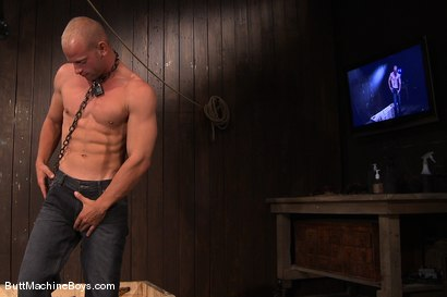 Photo number 1 from Patrick Rouge and the Ass Master shot for Butt Machine Boys on Kink.com. Featuring Patrick Rouge in hardcore BDSM & Fetish porn.