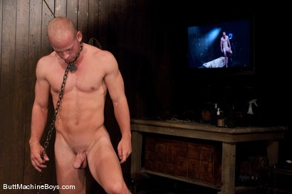 Photo number 2 from Patrick Rouge and the Ass Master shot for Butt Machine Boys on Kink.com. Featuring Patrick Rouge in hardcore BDSM & Fetish porn.