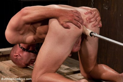 Photo number 9 from Patrick Rouge and the Ass Master shot for Butt Machine Boys on Kink.com. Featuring Patrick Rouge in hardcore BDSM & Fetish porn.