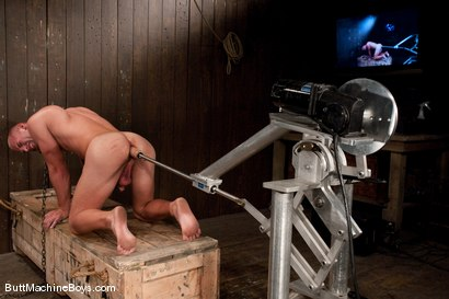 Photo number 11 from Patrick Rouge and the Ass Master shot for Butt Machine Boys on Kink.com. Featuring Patrick Rouge in hardcore BDSM & Fetish porn.