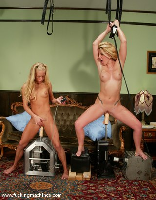 Photo number 13 from Summer Storm and Kylie Wilde shot for Fucking Machines on Kink.com. Featuring Summer Storm and Kylie Wilde in hardcore BDSM & Fetish porn.