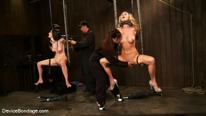 Photo number 3 from Mason, Winter Sky and Christina Carter<br> Part 1 of 4 of the July Live Feed shot for Device Bondage on Kink.com. Featuring Christina Carter, Mason and Winter Sky in hardcore BDSM & Fetish porn.