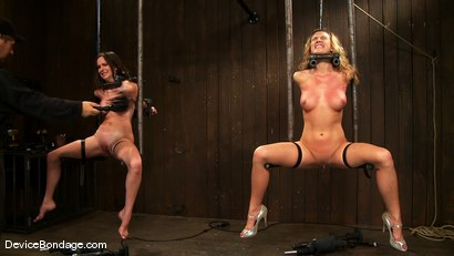 Photo number 9 from Mason, Winter Sky and Christina Carter<br> Part 1 of 4 of the July Live Feed shot for Device Bondage on Kink.com. Featuring Christina Carter, Mason and Winter Sky in hardcore BDSM & Fetish porn.
