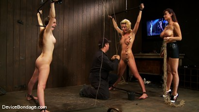Photo number 5 from Mason, Winter Sky and Christina Carter <br>Part 2 of 4 of the July Live Feed shot for Device Bondage on Kink.com. Featuring Christina Carter, Mason and Winter Sky in hardcore BDSM & Fetish porn.