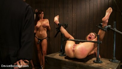 Photo number 13 from Mason, Winter Sky and Christina Carter<br> Part 3 of 4 of the July Live Feed shot for Device Bondage on Kink.com. Featuring Christina Carter, Mason and Winter Sky in hardcore BDSM & Fetish porn.