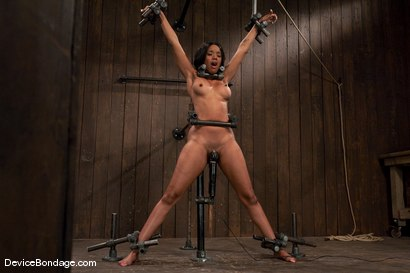 Photo number 11 from Kapri Styles <br> Ebony Goddess shot for Device Bondage on Kink.com. Featuring Kapri Styles in hardcore BDSM & Fetish porn.