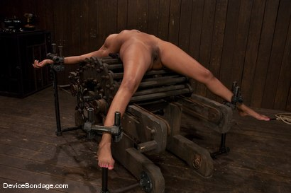 Photo number 1 from Karpri Styles<br>Doing what she was born to do shot for Device Bondage on Kink.com. Featuring Kapri Styles and Maestro in hardcore BDSM & Fetish porn.
