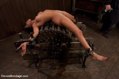 Photo number 2 from Karpri Styles<br>Doing what she was born to do shot for Device Bondage on Kink.com. Featuring Kapri Styles and Maestro in hardcore BDSM & Fetish porn.