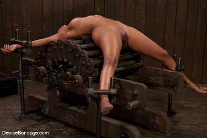 Photo number 13 from Karpri Styles<br>Doing what she was born to do shot for Device Bondage on Kink.com. Featuring Kapri Styles and Maestro in hardcore BDSM & Fetish porn.