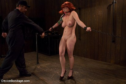 Photo number 5 from Kylie Ireland  Porn Legend suffering like everyone else. shot for Device Bondage on Kink.com. Featuring Kylie Ireland in hardcore BDSM & Fetish porn.