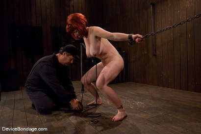 Photo number 7 from Kylie Ireland  Porn Legend suffering like everyone else. shot for Device Bondage on Kink.com. Featuring Kylie Ireland in hardcore BDSM & Fetish porn.