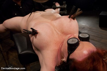 Photo number 12 from Kylie Ireland<br>Spread and abused. shot for Device Bondage on Kink.com. Featuring Kylie Ireland in hardcore BDSM & Fetish porn.