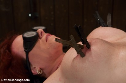 Photo number 14 from Kylie Ireland<br>Spread and abused. shot for Device Bondage on Kink.com. Featuring Kylie Ireland in hardcore BDSM & Fetish porn.