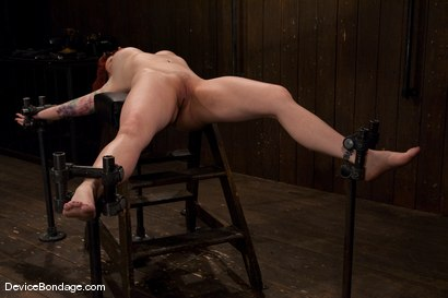 Photo number 3 from Kylie Ireland<br>Spread and abused. shot for Device Bondage on Kink.com. Featuring Kylie Ireland in hardcore BDSM & Fetish porn.