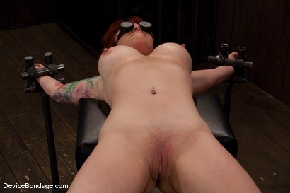 Photo number 5 from Kylie Ireland<br>Spread and abused. shot for Device Bondage on Kink.com. Featuring Kylie Ireland in hardcore BDSM & Fetish porn.