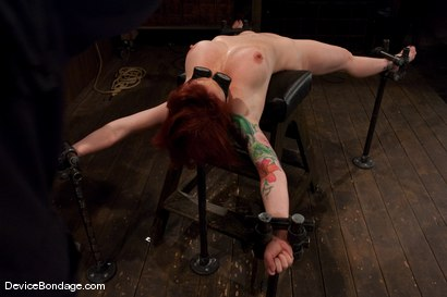 Photo number 4 from Kylie Ireland<br>Spread and abused. shot for Device Bondage on Kink.com. Featuring Kylie Ireland in hardcore BDSM & Fetish porn.