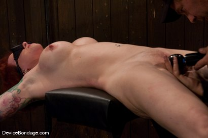 Photo number 7 from Kylie Ireland<br>Spread and abused. shot for Device Bondage on Kink.com. Featuring Kylie Ireland in hardcore BDSM & Fetish porn.