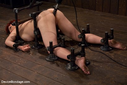Photo number 3 from Kylie Ireland<br>Fucked so hard in ass she begs for it to stop shot for Device Bondage on Kink.com. Featuring Kylie Ireland in hardcore BDSM & Fetish porn.