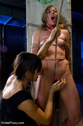 Photo number 6 from Two of the hottest and toughest porn stars team up for one explosive update!!!! shot for Wired Pussy on Kink.com. Featuring Miss Jade Indica, Princess Donna Dolore and Ariel X in hardcore BDSM & Fetish porn.